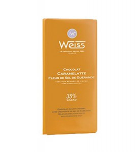Tablette caramelatte pointe de sel Weiss